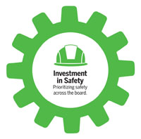 Investment in safety cog