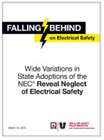 Nec adoption maps nfpa for Uniform swimming pool spa and hot tub code 2012 edition