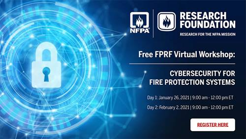Cybersecurity for Fire Protection Systems webinar
