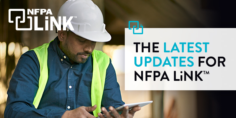 The latest updates for NFPA LiNK