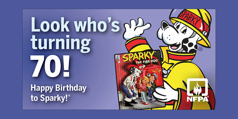 Sparky is turning 70
