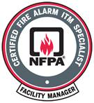 Certified Fire Alarm Inspection, Testing, and Maintenance Specialist (CFAITMS) for Facility Managers logo