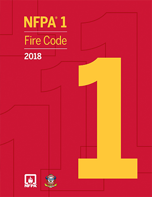 NFPA 1, Fire Code, 2018 edition