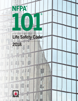 NFPA 101, Life Safety Code, 2018 edition