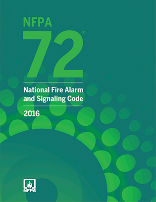 NFPA 72, National Fire Alarm and Signaling Code, 2016 Edition