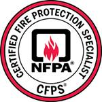 Certified Fire Protection Specialist logo