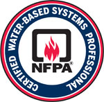 Certified Water-Based Systems Professional logo