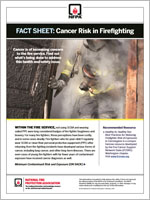 Featured item Cancer Risk in Firefighting