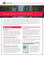 Featured item NEW! - School safety and security update