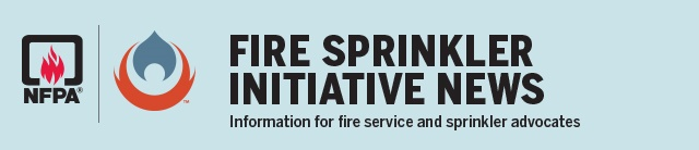 Fire Sprinkler Initiative newsletter