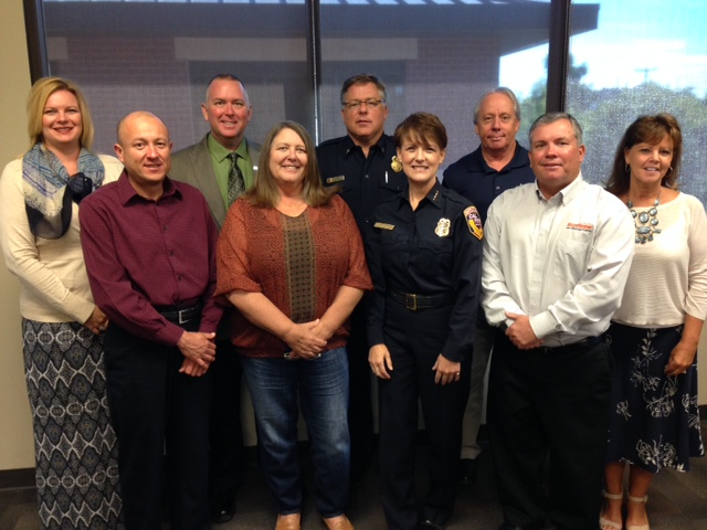 Members of the California Fire Sprinkler Coalition