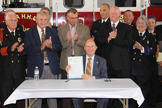 Delaware governor signs pro-sprinkler bill