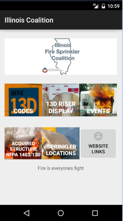 Illinois Fire Sprinkler Coalition app