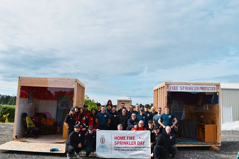 Turner Oregon 2019 Home Fire Sprinkler Week Event