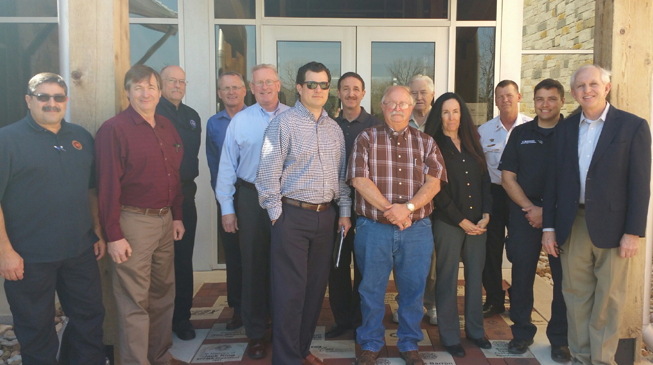 Members of the Texas Fire Sprinkler Coalition