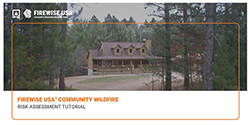 Featured item Community Wildfire Risk Assessment Tutorial