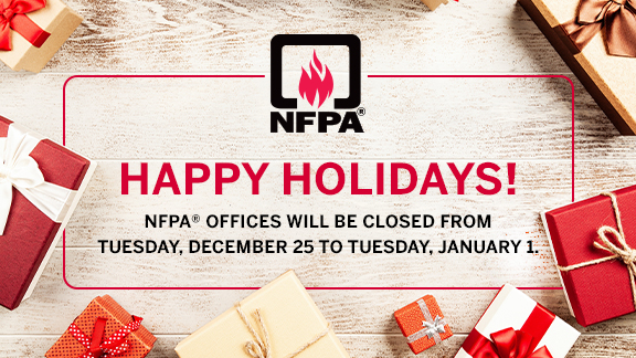 Happy holidays from NFPA