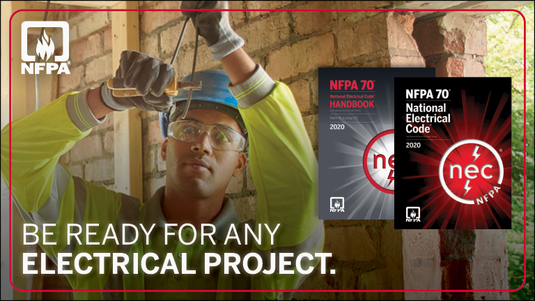 NFPA 70 - Be ready for any electrical project
