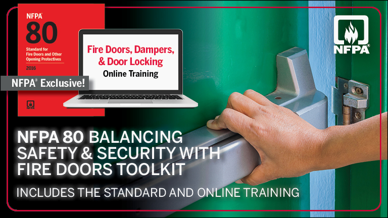 NFPA 80 Balancing Safety and Security with Fire Doors Toolkit
