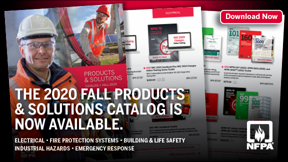 NFPA Product & Solutions Catalog - Fall 2020