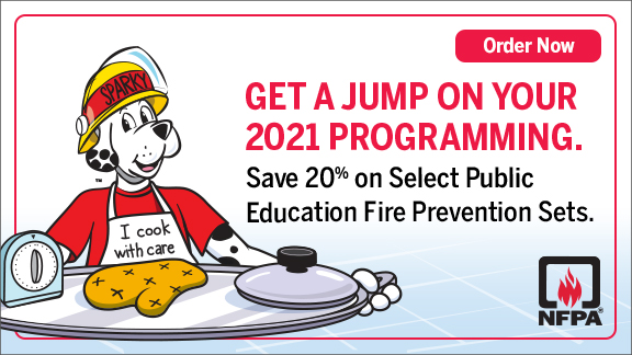 Public education fire prevention sets