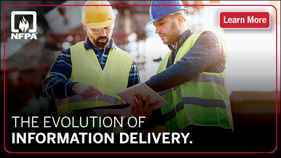 Learn more about NFPA's evolution of information delivery