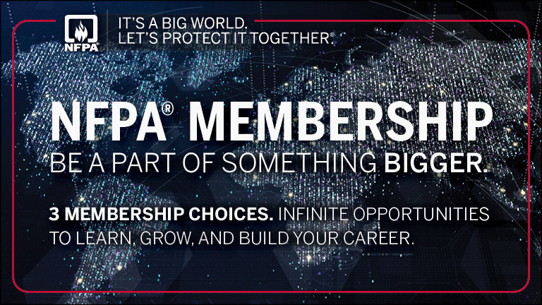 NFPA membership - Be part of something bigger