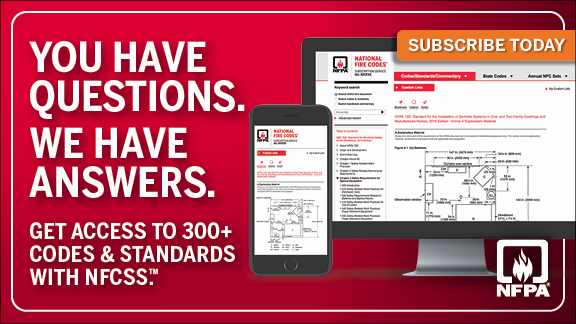 National Fire Codes Subscription Service - One subscription. Every code and standard.