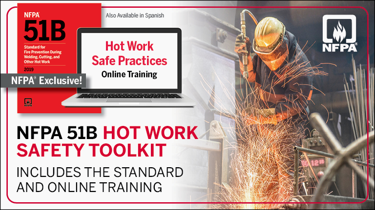 NFPA 51B Hot Work Safety Toolkit