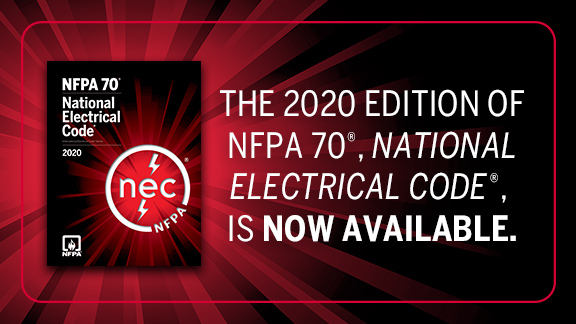 NFPA 70 2020 now available