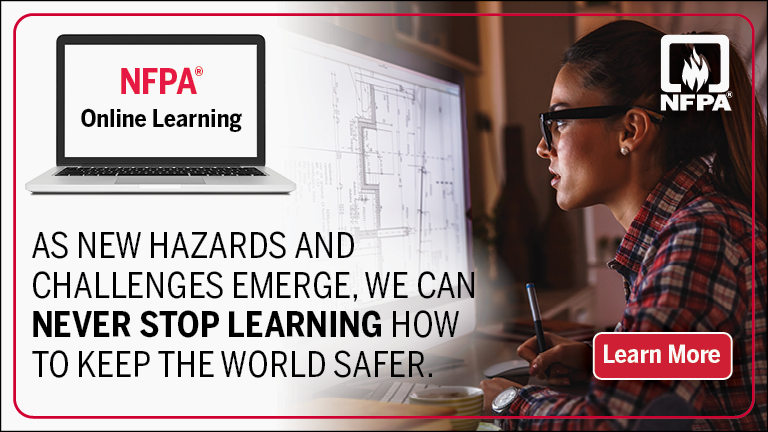 NFPA online training