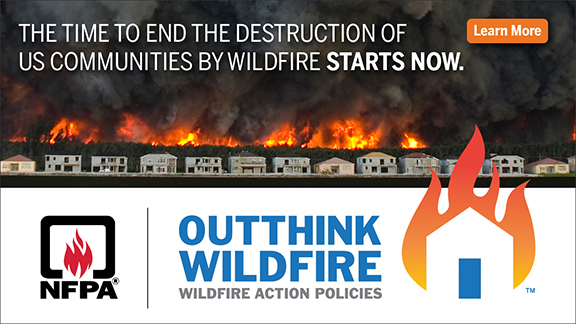 Outthink Wildfire campaign