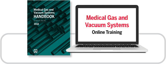 Medical Gas and Vacuum Systems Handbook and online training
