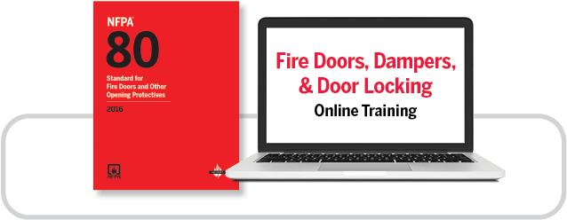 NFPA 80 and online training