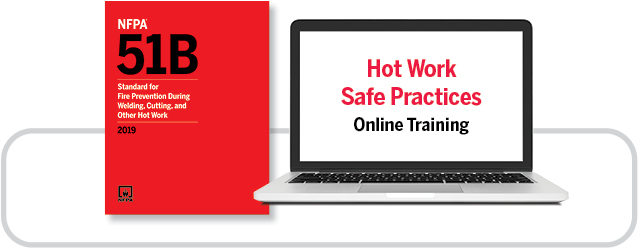 NFPA 51B and online training