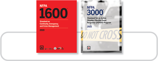 NFPA 1600 (2019) and NFPA 3000 (2021) Toolkit