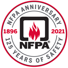 NFPA anniversary coin