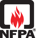 NFPA, National Fire Protection Association. The authority on fire, electrical, and building safety