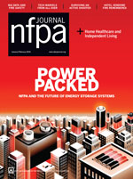 NFPA Journal Cover January February 2016