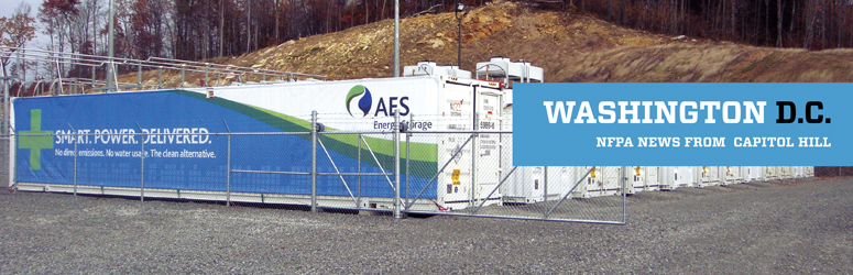 Energy Storage systems in a gravel lot