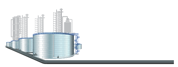LNG Tank Illustration