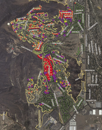waldo canyon NIST image map