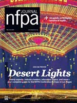 NFPA Journal May June 2016 Cover Image