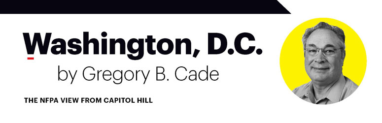 Headshot of Gregory B. Cade for Washington D.C. Column.