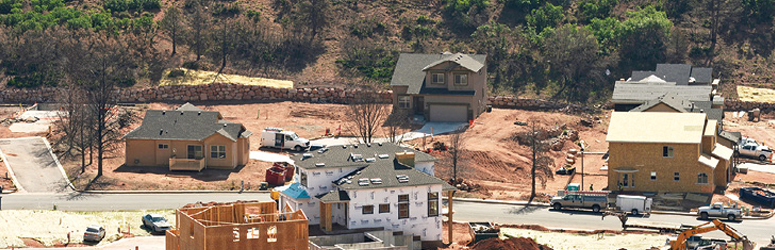 Homes being rebuilt in Colorado Springs
