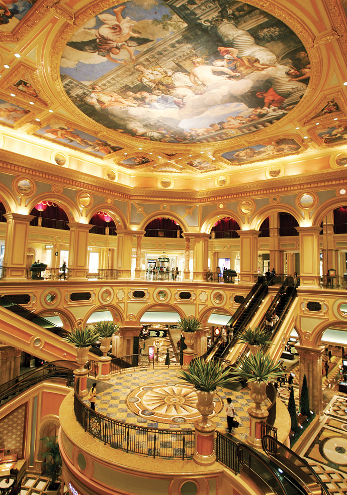 Atrium at the Venetian Macau