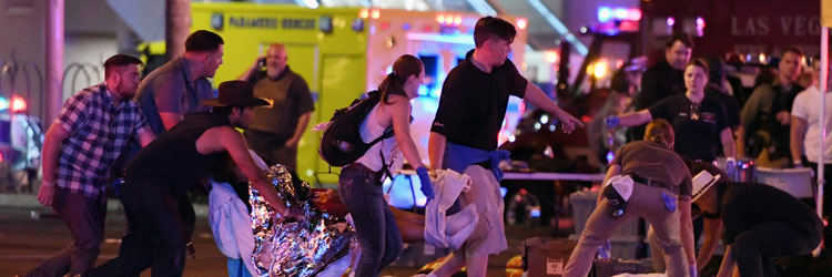 Vegas civilians helping out after shooting