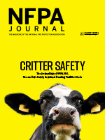 NFPA Journal Cover November December 2018