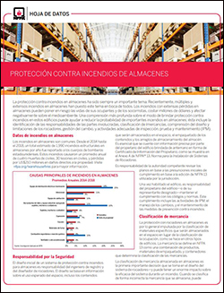 Warehouse fact sheet (Spanish)