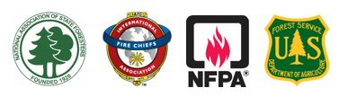 National Association of State Foresters, International Association of Fire Cheifs, NFPA and U.S. Forest Service